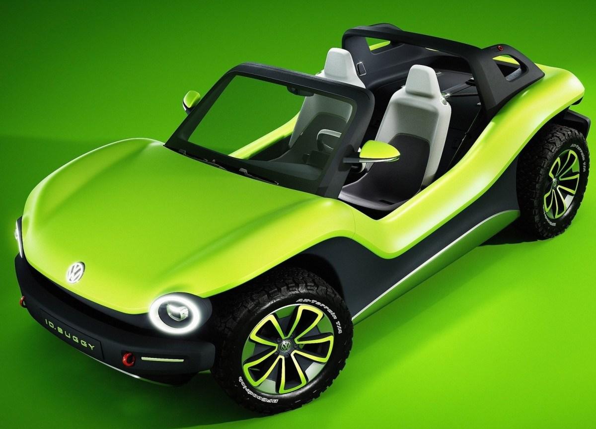 Volkswagen ID Buggy Concept 2019 - Nouveau Buggy électrique.