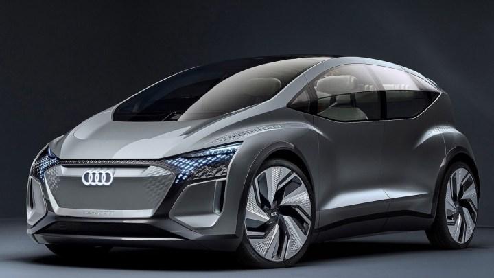 Audi AI ME Concept 2019 – Une voiture urbaine autonome et connectée.