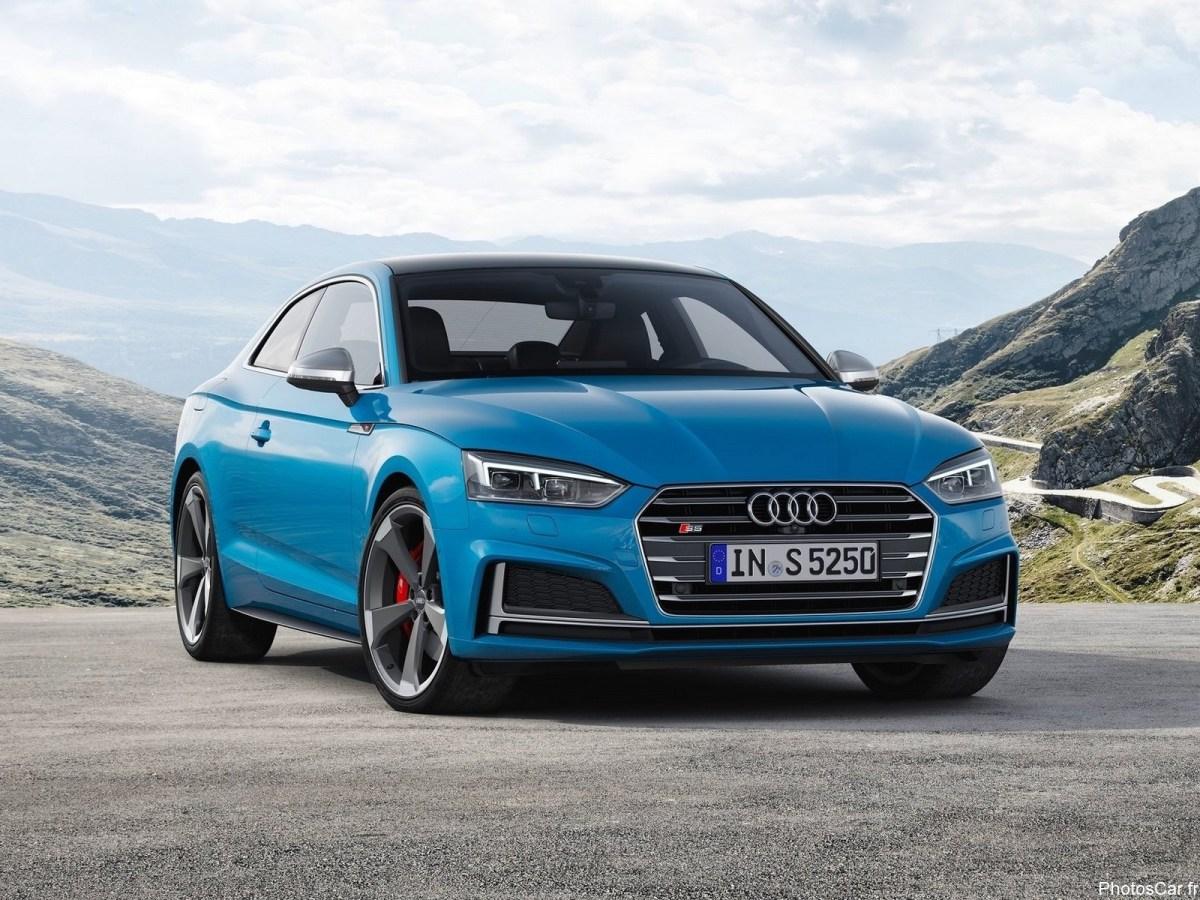 Audi S5 2019 coupé et Sportback - Le profil demeure inchangé.