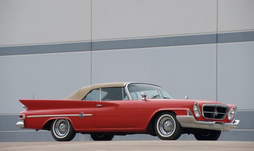 Chrysler 300 G Convertible 1961 – Un exemple fantastique de design.