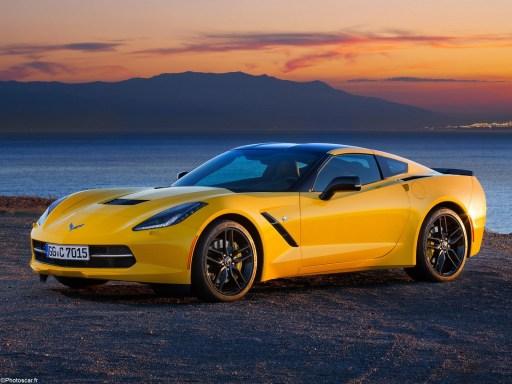 Corvette C7 Stingray Coupe Europe 2013