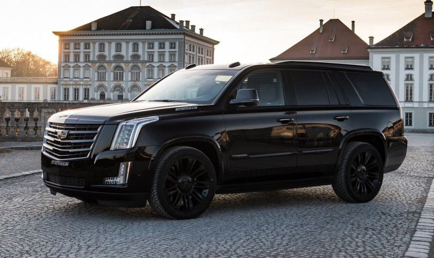 Geiger Cadillac Escalade Black Edition 2018 – Un monstre de 448 CV.