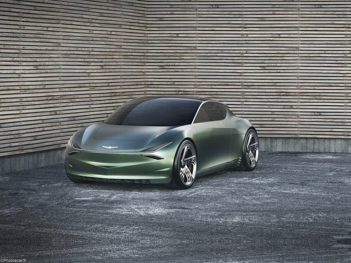 Genesis Mint Concept 2019 - Petit véhicule électrique à deux portes.