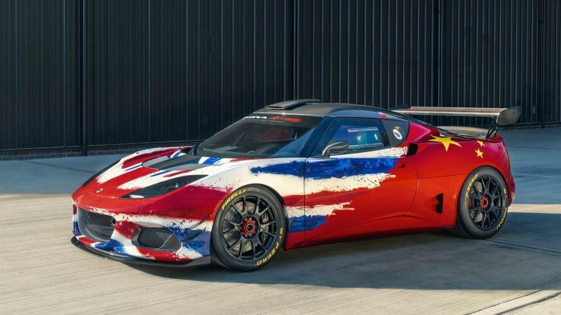 Lotus Evora GT4 Concept 2019 animée par un V6 3.5 litres de 456 ch.