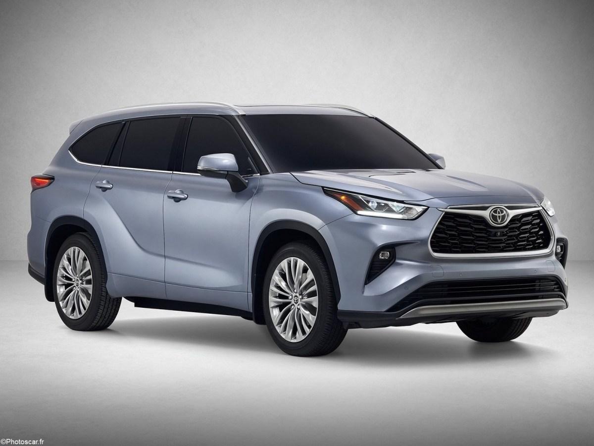 Toyota Highlander 2020 - Un look plus droit et plus robuste qu'auparavant.