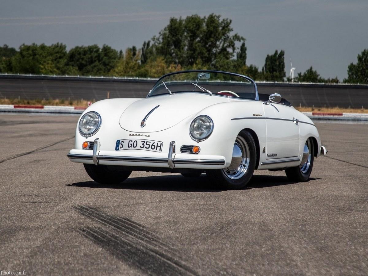Porsche 356 1500 Speedster 1955 - Construit à la demande des clients
