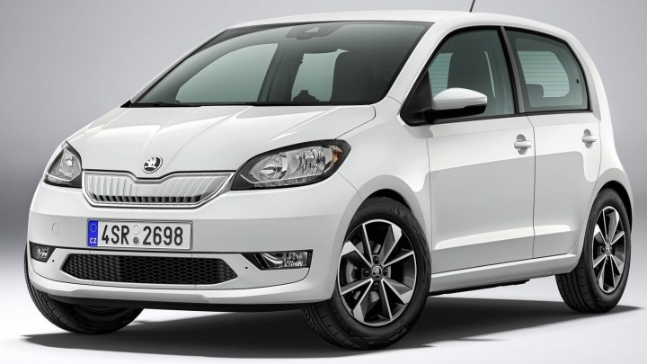 Skoda Citigo-e iV 2020 – Nouvelle mini voiture électrique.