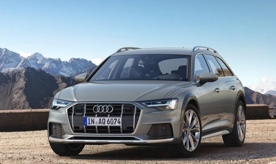 Audi A6 Allroad Quattro 2020 – Elle se distingue par un design affirmé.