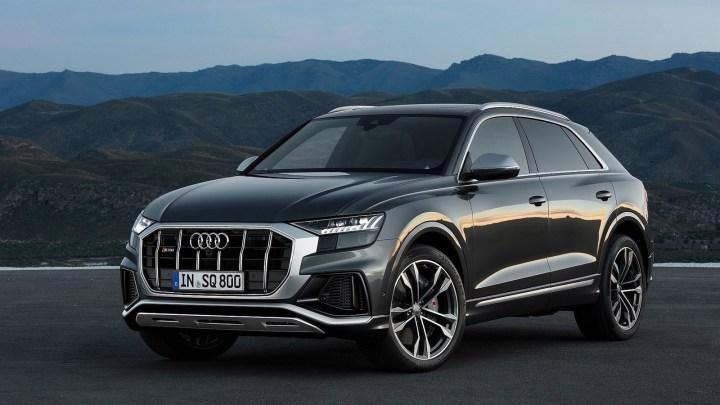 Audi SQ8 TDI 2020 – Un SUV haut de gamme axé sur les performances.