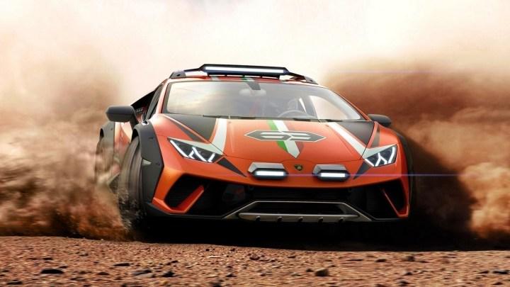 Lamborghini Huracan Sterrato Concept 2019 – Concept unique de supercar