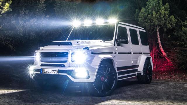 Lumma Mercedes CLR G770 2019