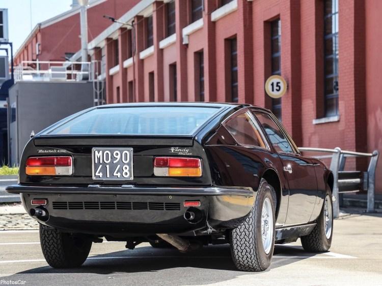 Maserati Indy 1969 - Élégante,discrète, performante mais ...