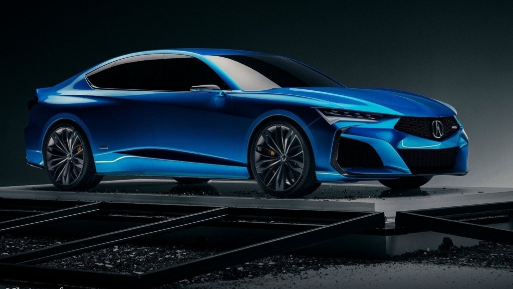 Acura Type S Concept 2019 – Peinture Double Apex Blue Pearl