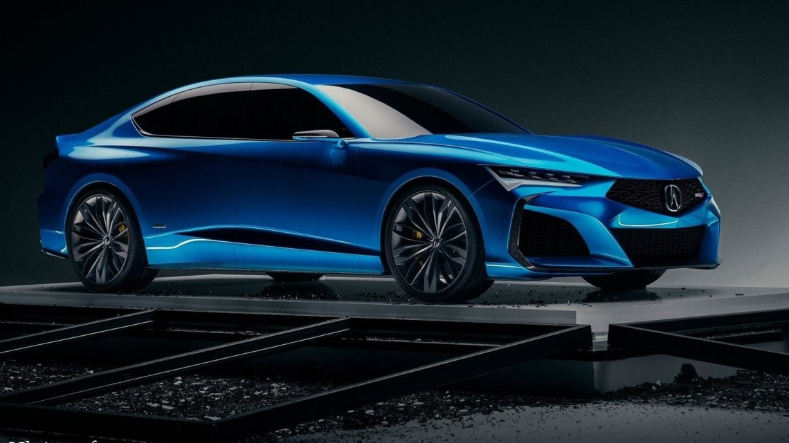 Acura Type S Concept 2019 – Un retour des modèles Acura plus sportifs
