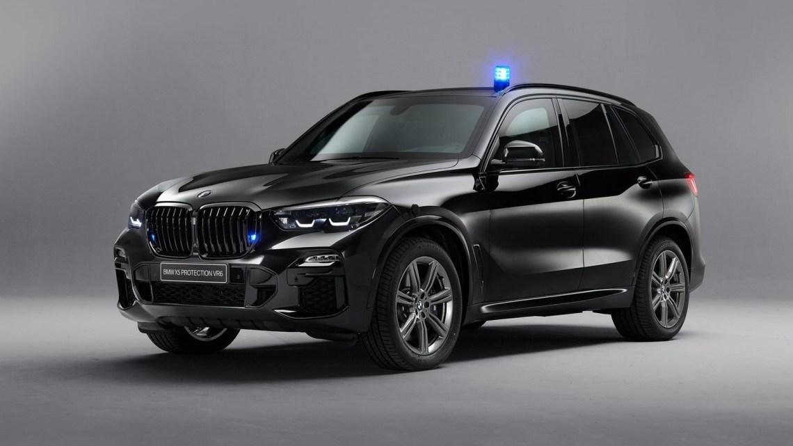 BMW X5 Protection VR6 2020 entièrement blindé et à l'épreuve des balles
