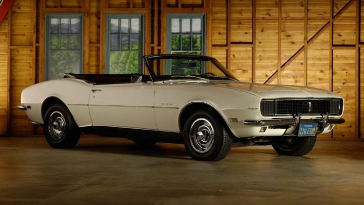 La Chevrolet Camaro 1968 a reçu quelques modifications mineures