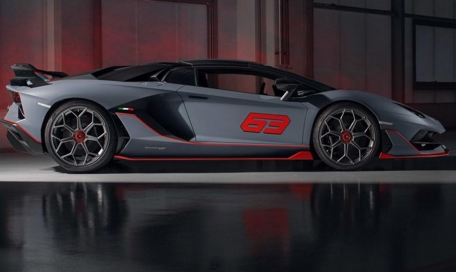 Lamborghini Aventador SVJ 63 Roadster 2020 – Voiture à édition spéciale