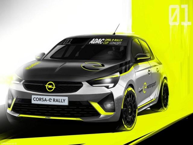 Opel Corsa-e Rallye 2020