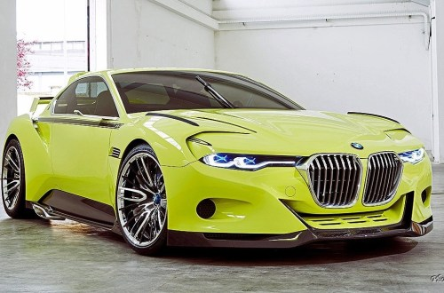 2015 BMW 3.0 CSL Hommage R Pebble Beach