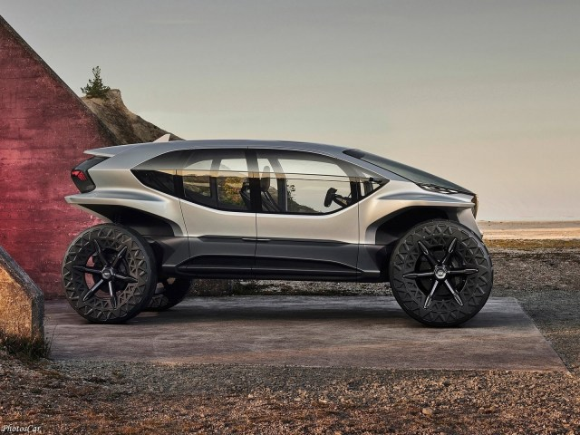Audi AI TRAIL Quattro Concept 2019