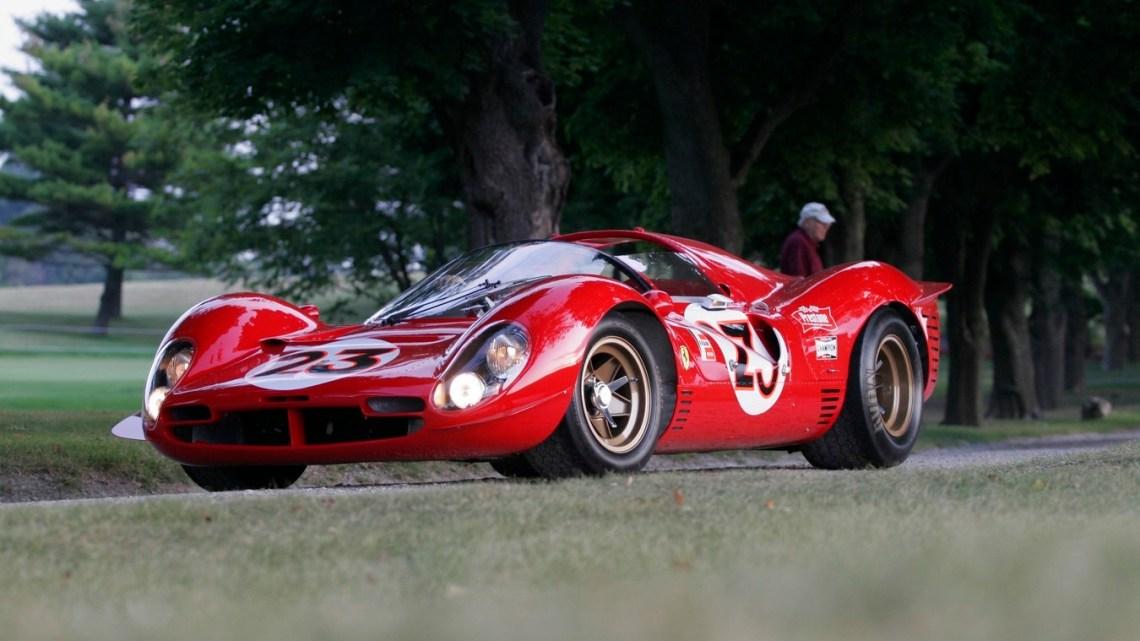 Ferrari 330 P4 – Sans doute l'une des plus belles Ferrari jamais produite