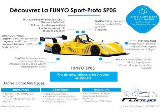La voiture Funyo SP5