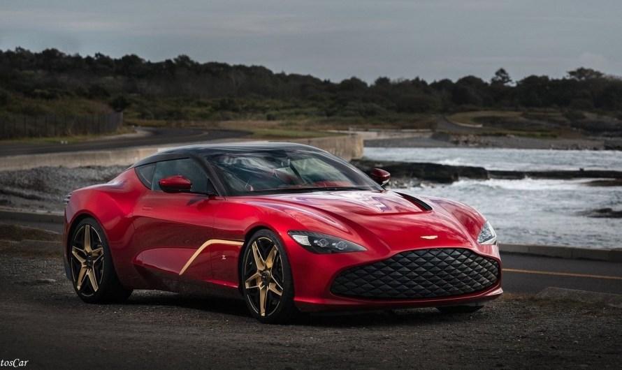 Aston Martin DBS GT Zagato 2020 – Moteur V-12 bi-turbocompressé de 5,2 litres
