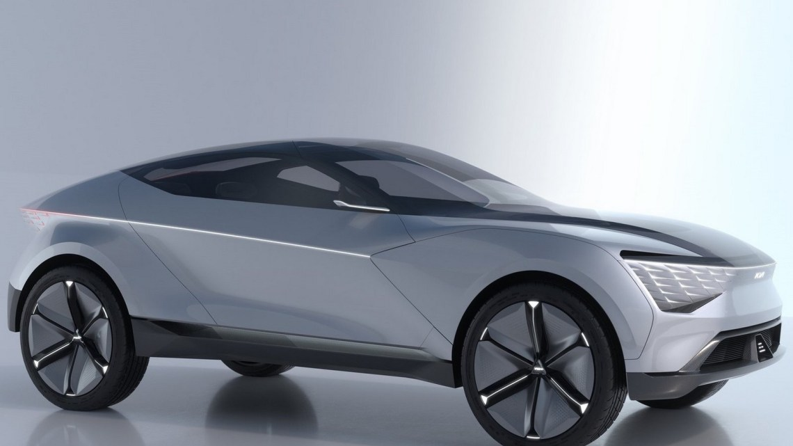 Kia Futuron Concept 2019 – A quoi pourrait ressembler un e-SUV du futur.