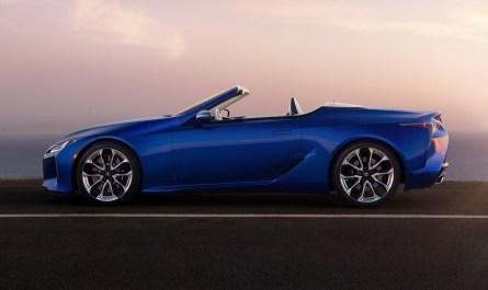 Lexus 500 Convertible 2021