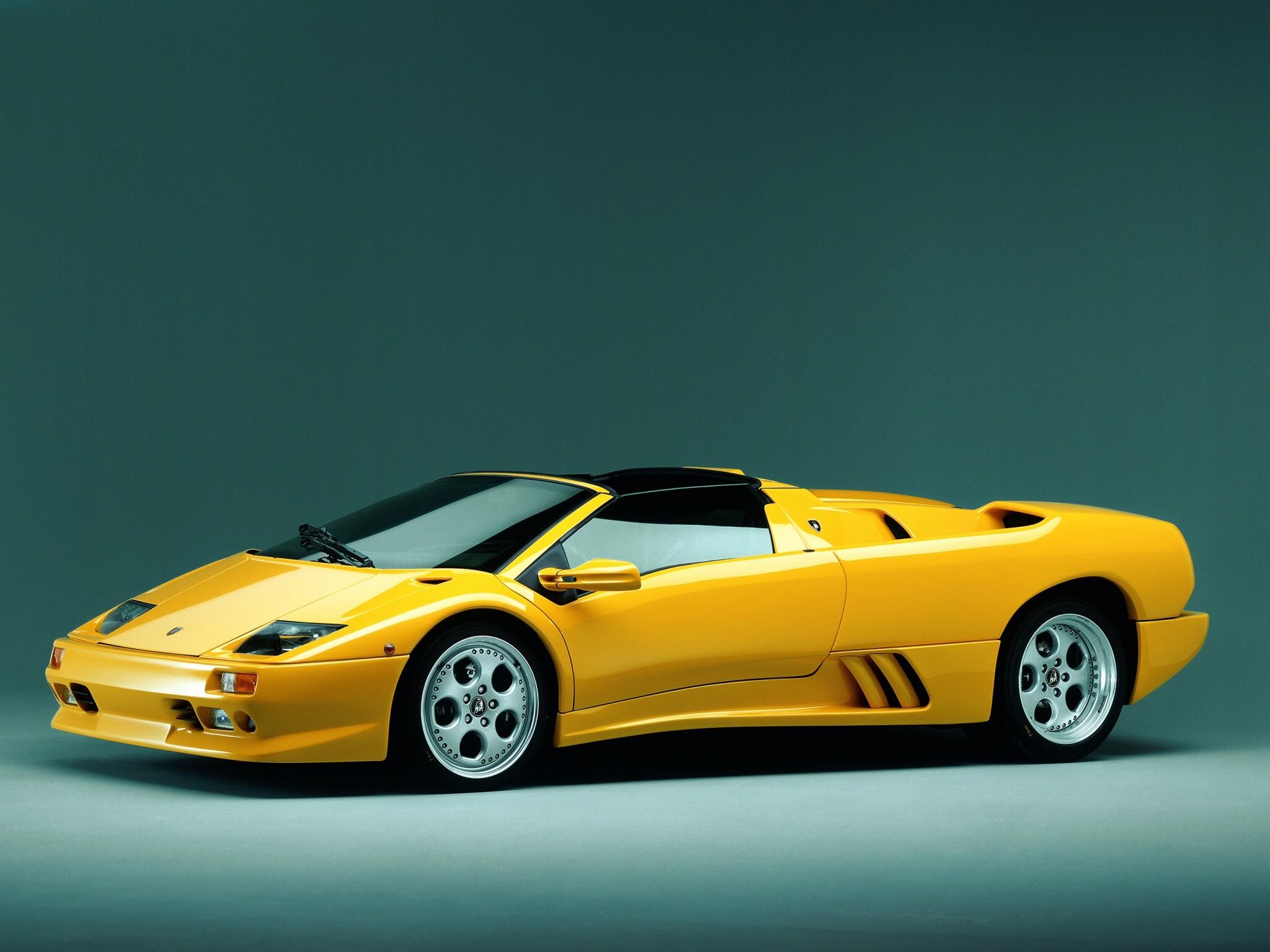 Lamborghini Diablo Roadster 1996