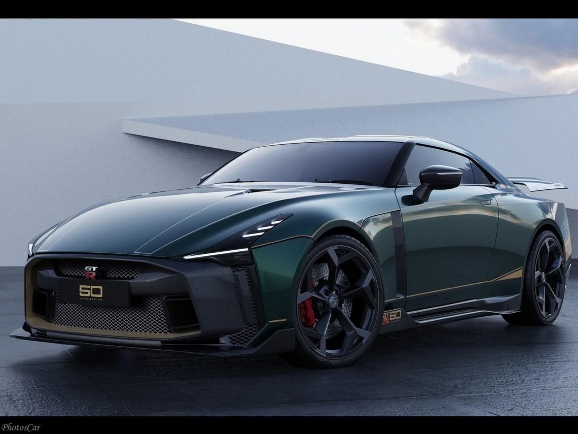 Nissan GT-R50 Italdesign 2021