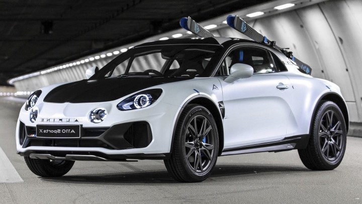Alpine A110 SportsX Concept 2020 – Inspiré de la voiture des années 70