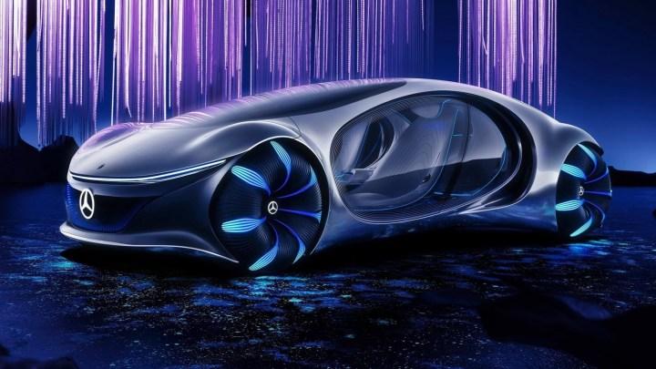 Mercedes Benz Vision Avtr Concept 2020 – Inspire du film Avatar