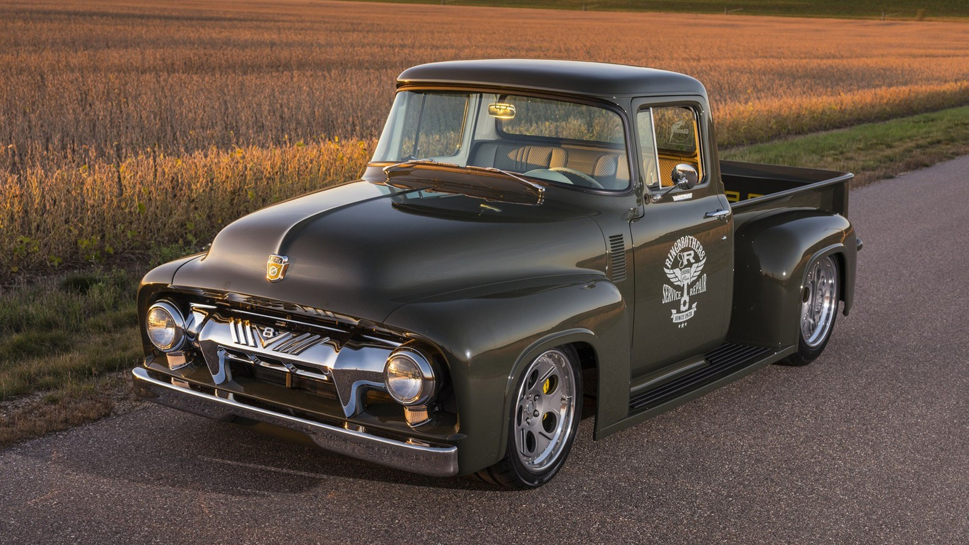Ringbrothers Clem 101 Ford F100 Pickup 1956