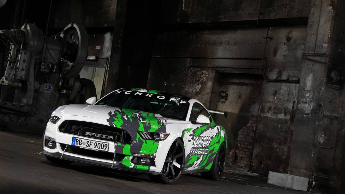 Schropp Tuning Ford Mustang SF600R 2017 haute performance et 807 ch