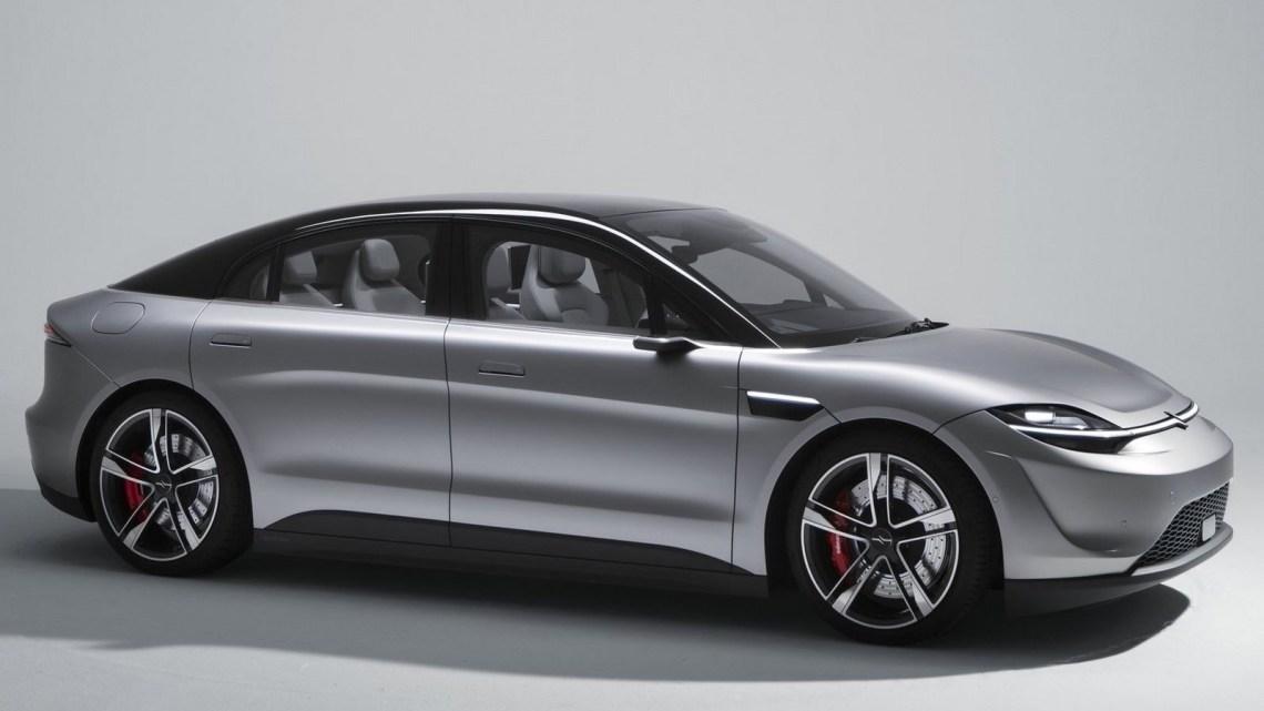 Sony Vision-S Concept 2020 – Une conduite autonome de niveau 2