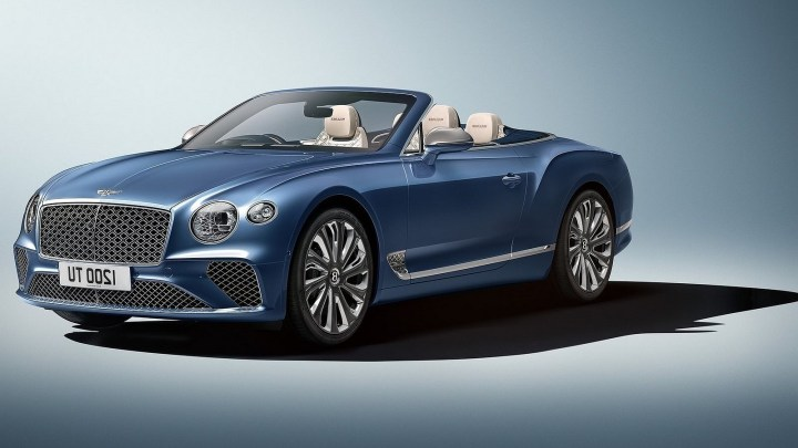 Bentley Continental GT Mulliner Convertible 2020 – Encore plus luxueux