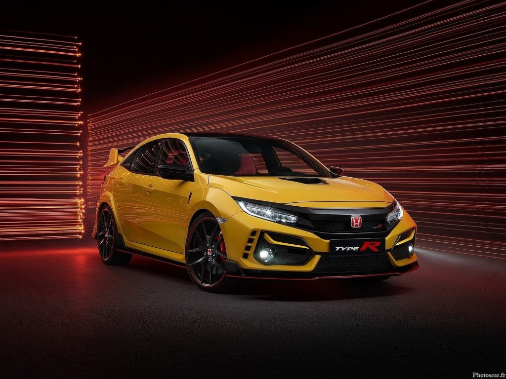 Honda Civic Type R Limited Edition 2021 – Uniquement en jaune Phoenix