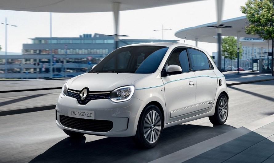 Renault Twingo ZE 2020 – La version électrique de sa mini citadine Twingo