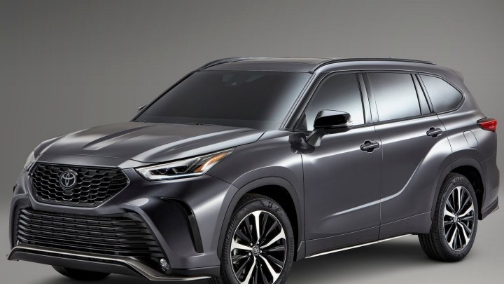Toyota Highlander XSE 2021 – Avec une apparence plus sportive