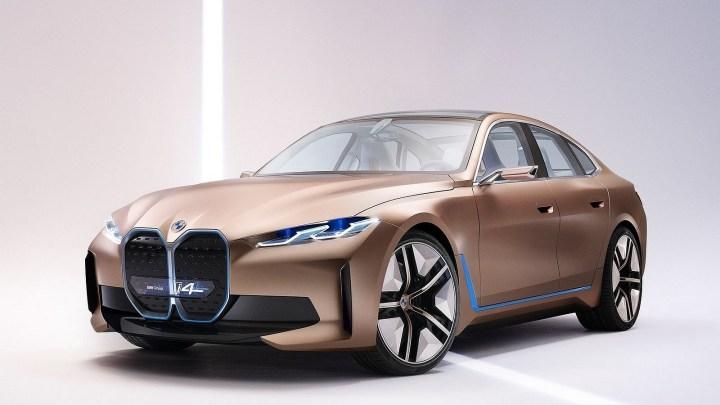 BMW i4 Concept 2020 – L'esthétique électrisante d'une nouvelle génération