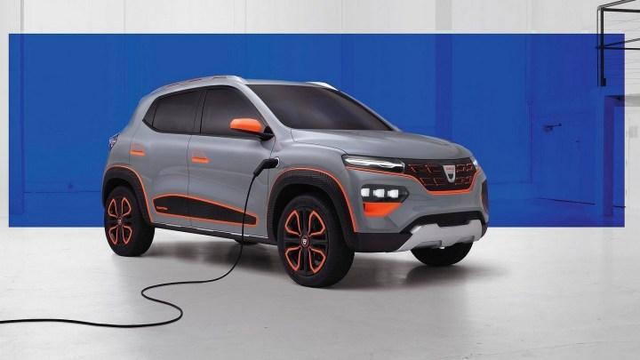 Le Spring Electric Concept 2020 est Le premier véhicule électrique Dacia