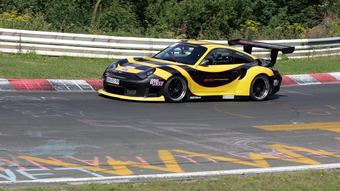 Edo-Competition – Porsche 997 GT2 RS Maya l'Abeille