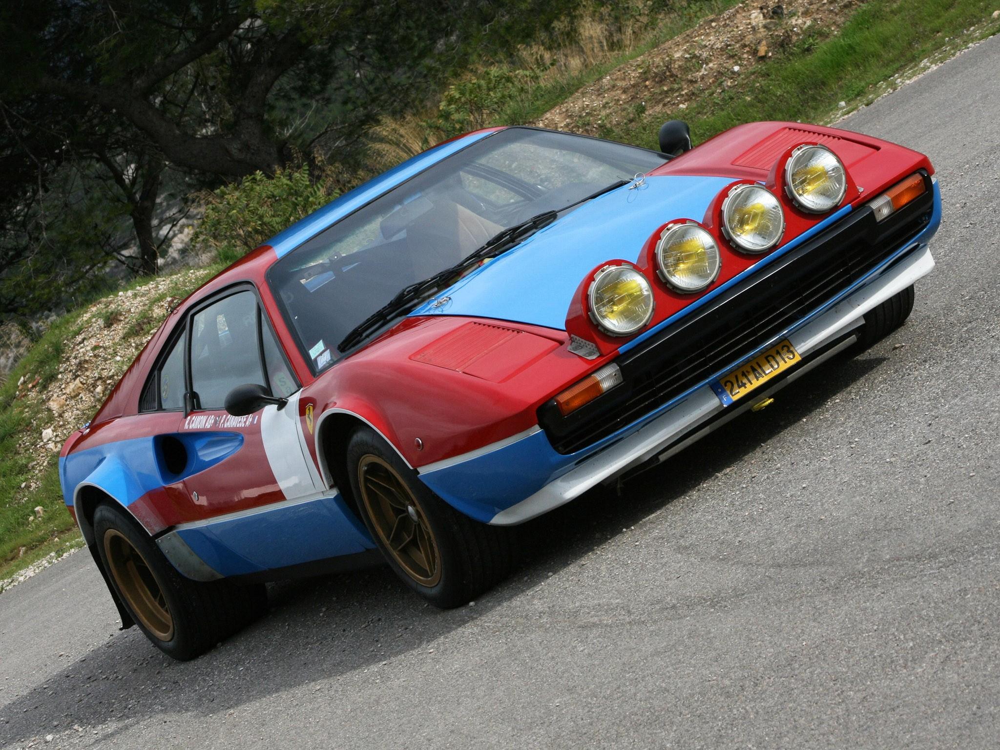 Ferrari 308 GTB Group 4 Michelotto 1978