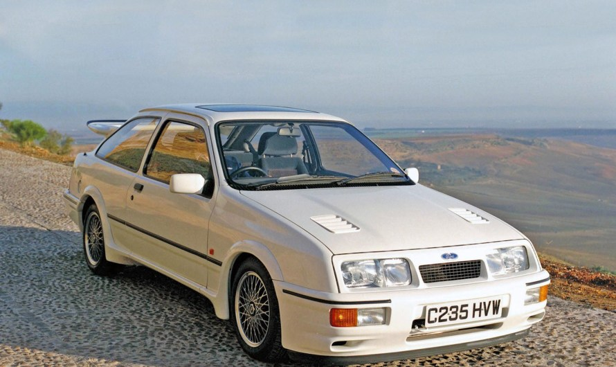 Ford Sierra RS Cosworth – Une voiture extrêmement attrayante et rapide