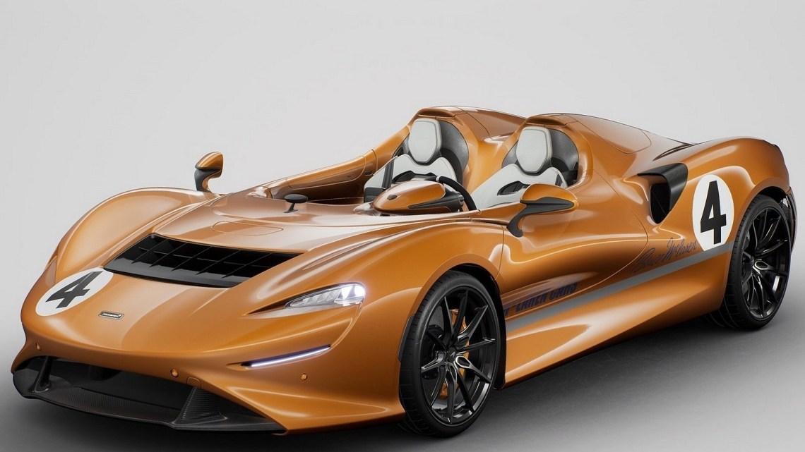 McLaren Elva M6A Theme by MSO 2021 – Couleur officielle de la marque.