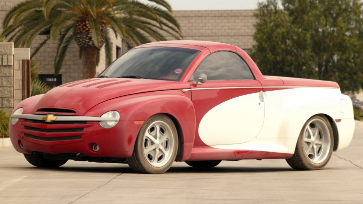 SOCAL Chevrolet SSR Bonneville – Début public Hot Rod Power Tour 2004