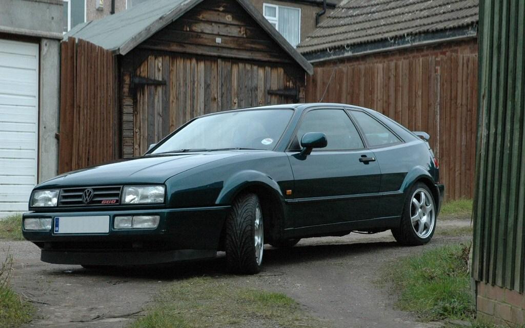 Volkswagen Corrado – Le meilleur coupé de taille moyenne de son époque