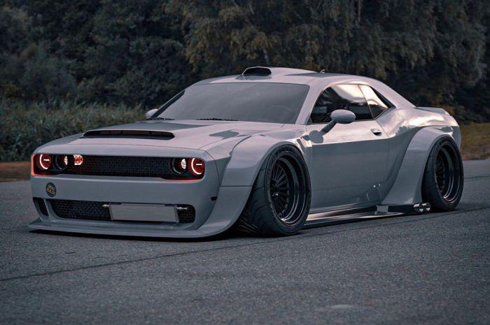 BradBuilds Dodge Challenger SRT – Ce n'est pas une vraie voiture.