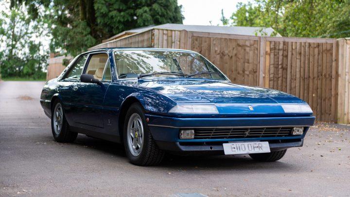 Ferrari 412 – L'une des meilleures berlinettes de sport de Maranello